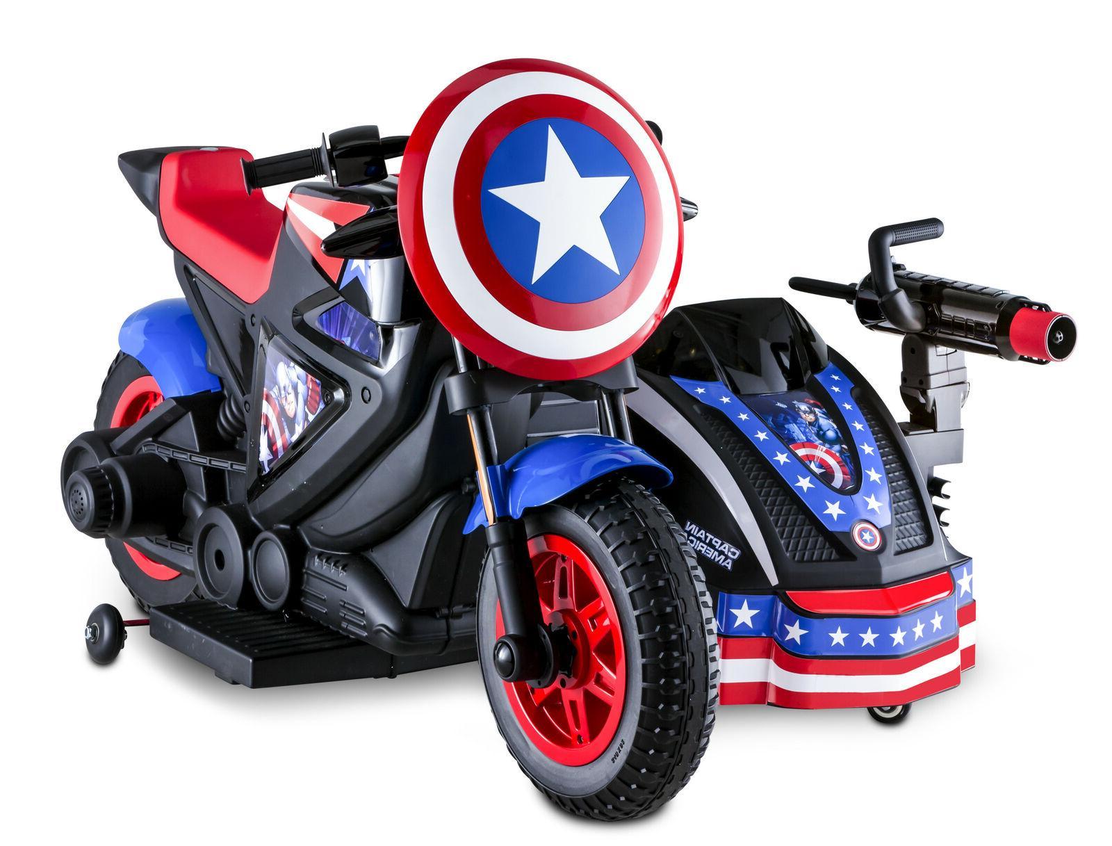 Captain America Kid Ride-On Sidewalk
