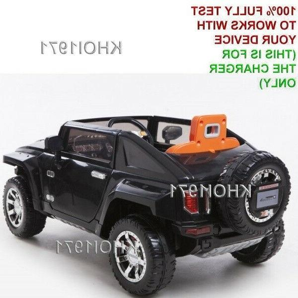 charger AC adapter 0226 Products Kid HUMMER ride