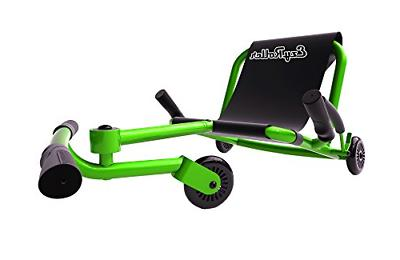 classic lime green ride on for children