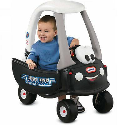 Cozy Coupe Tikes Patrol Ride-On Police Car Push Riding Toy F