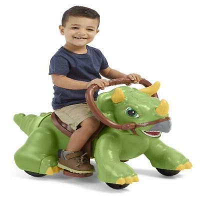 dino ride on toy 6 volt rideamals