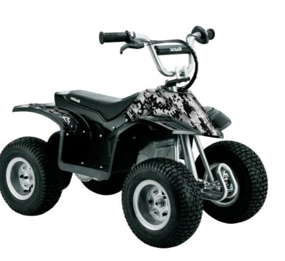 Razor Dirt Bike Quad 4-Wheel Ride On Electric Toys For Kids