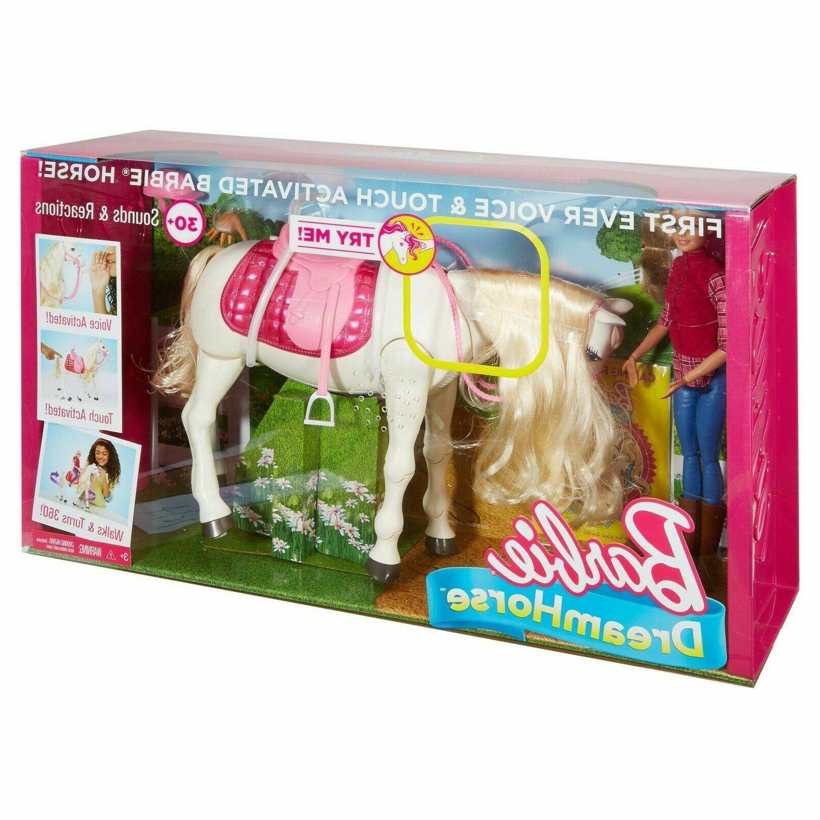 dream horse blonde doll