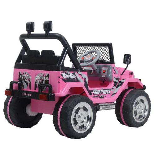 Electric Kids Jeep Control
