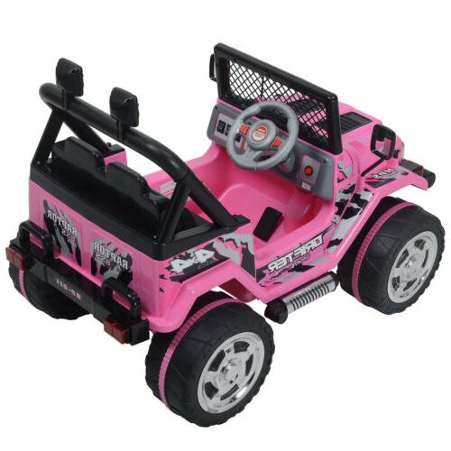 Electric Kids Powered Ride On Jeep Battery Wheel Remote Control