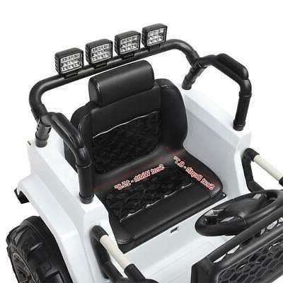 Electric 12V Kids On Car Wheel Light Remote Guide