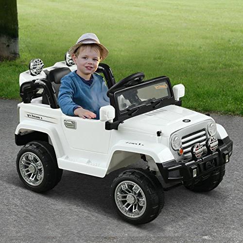 Aosom Ride On Car Remote - White