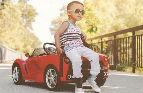 Electric Cars Kids Ride Ferrari Sports Motorized Vehicle Toddler