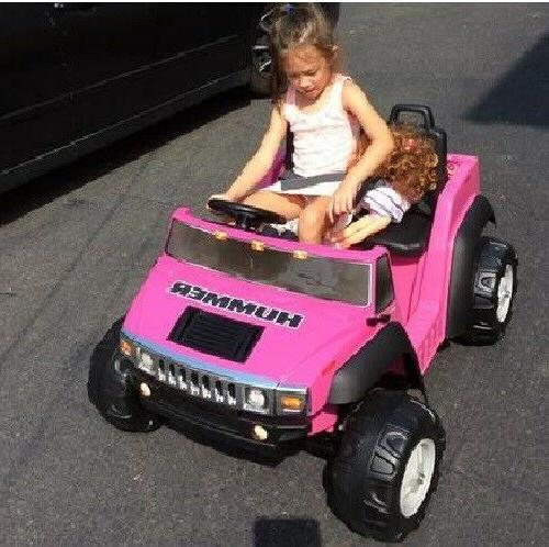 Electric Cars To On Girls Vehicles Hummer