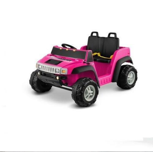 Electric Cars For To Ride Girls Motorized Vehicles Hummer Pink 12V