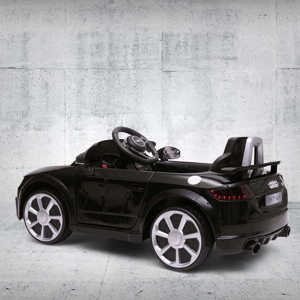 Electric Car Audi TT 12V Black