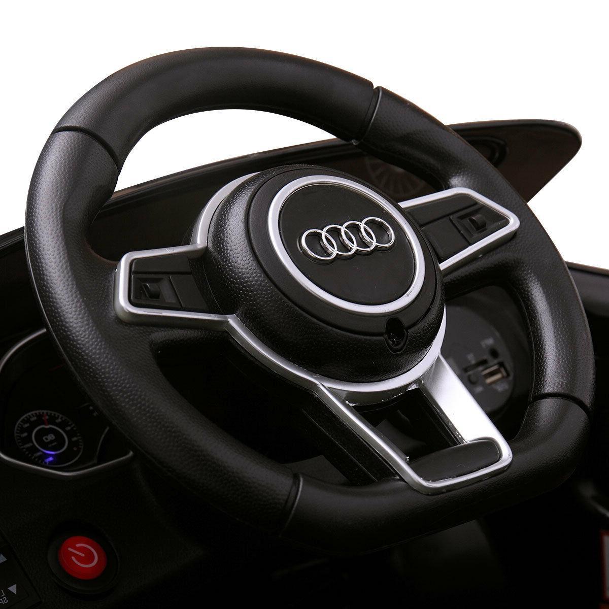 Electric Kids Car Audi TT 12V Black