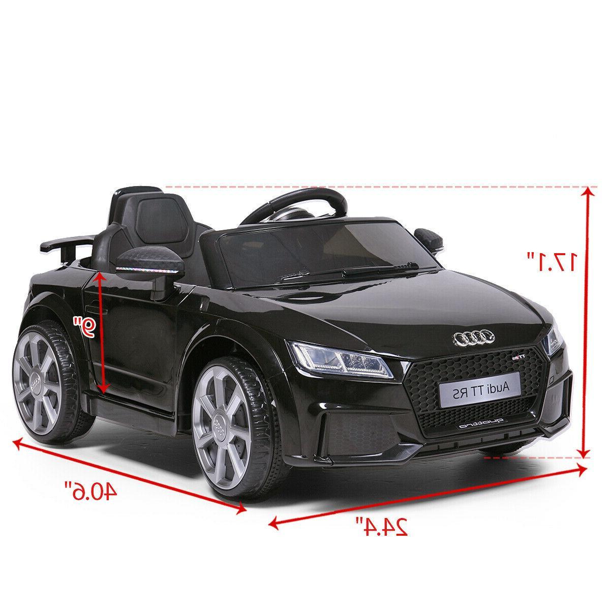 Electric Kids Car Audi 12V Black