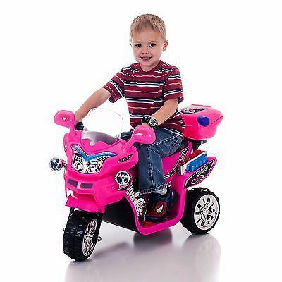 Kids Motorcycle Toy Wheeler Rider Pink