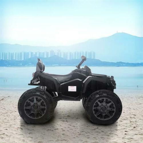 Electric Vehicle Kids Ride On ATV 12V Battery Powered 2-Spee