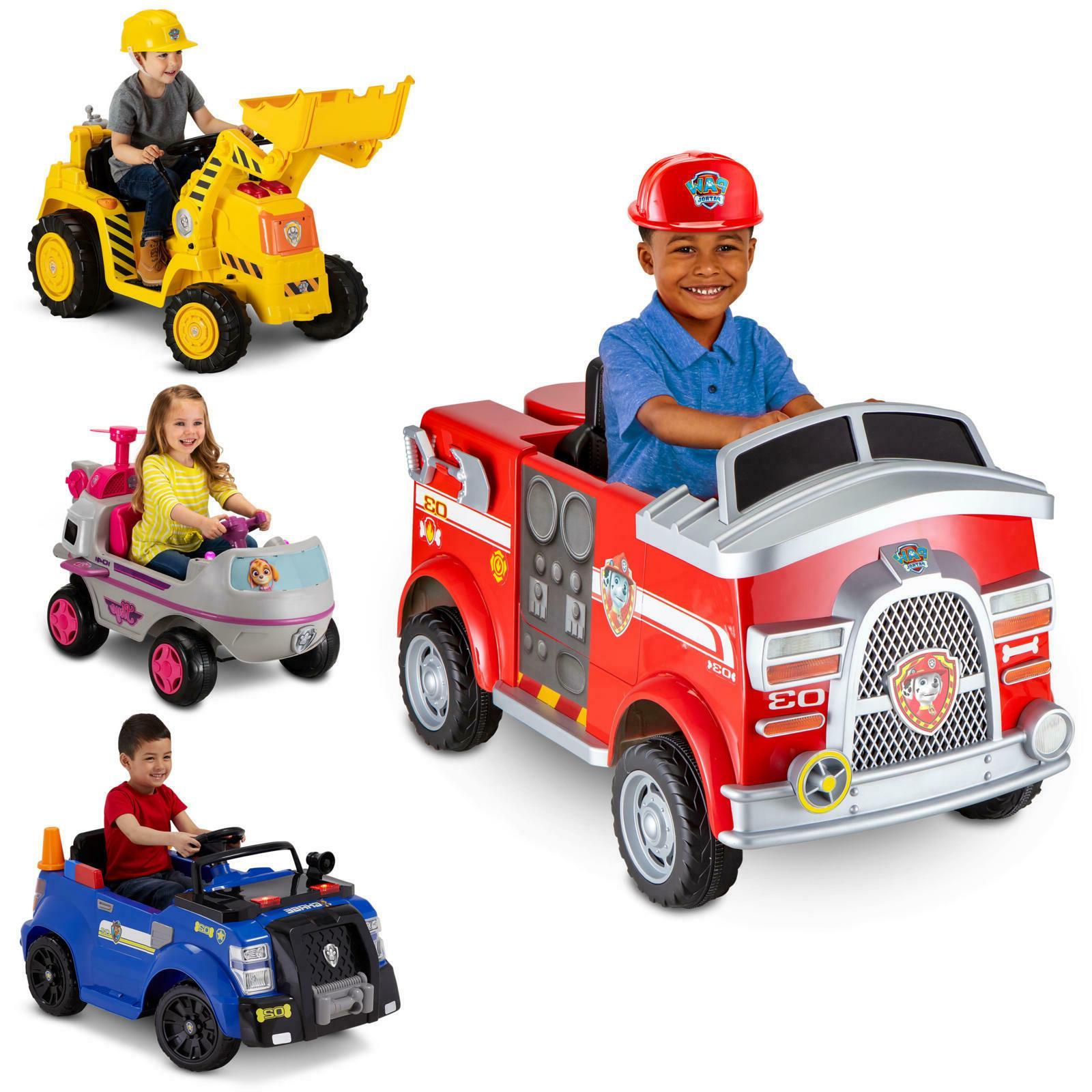 fire truck 6 volt powered ride on