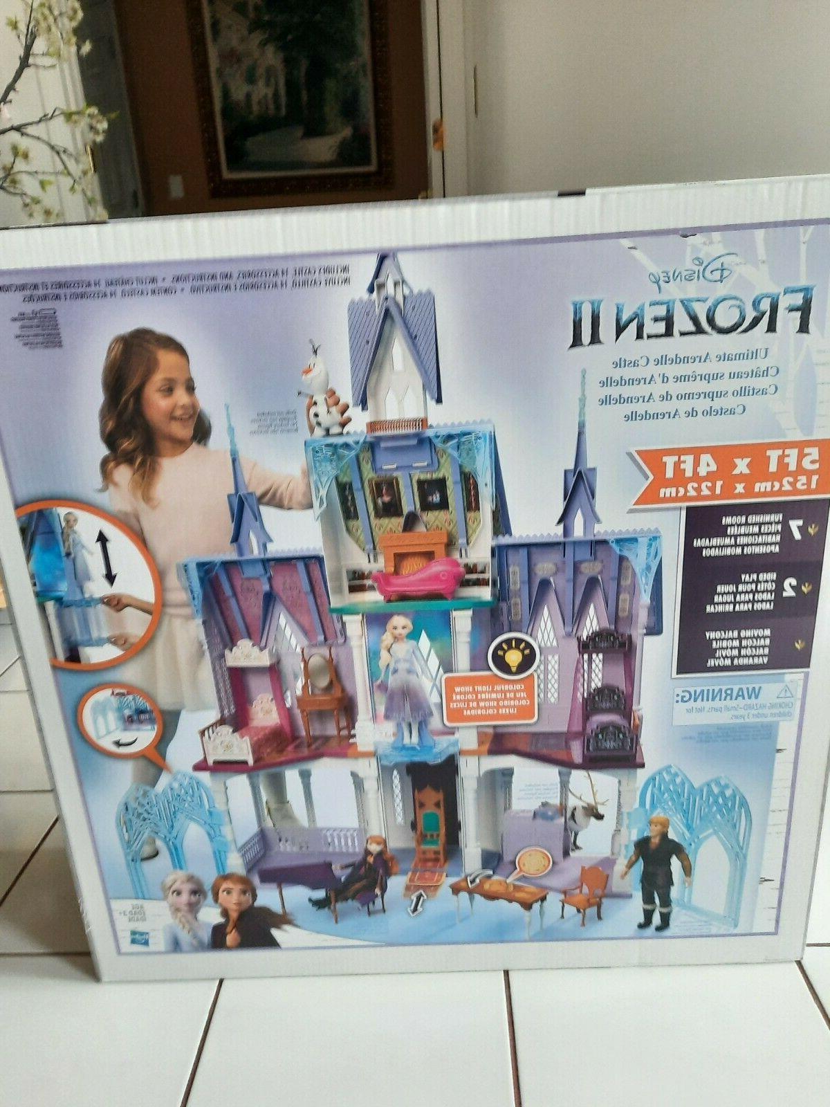 frozen 2 ultimate arendelle castle playset kid