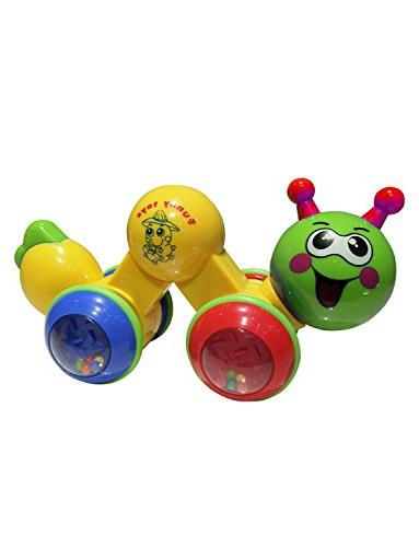 funny creeping worm toy interesting