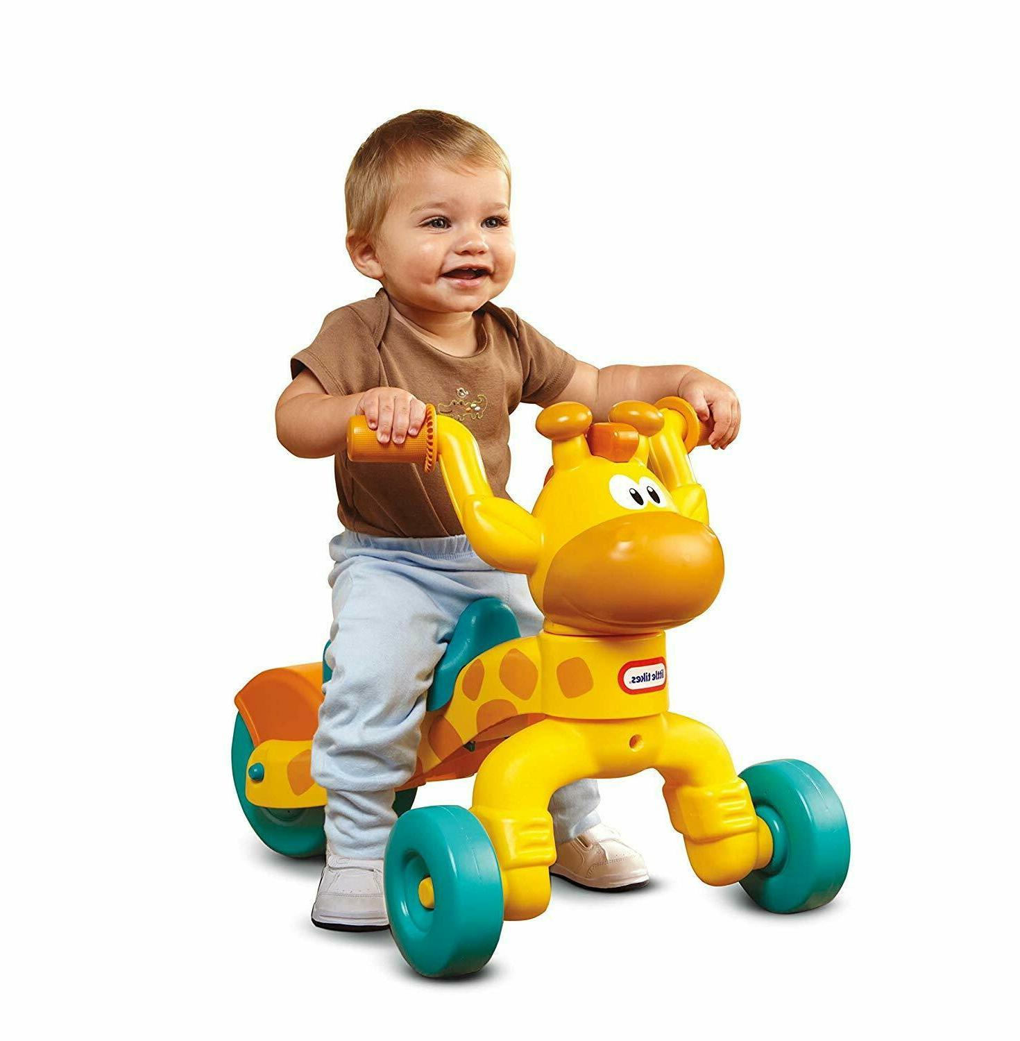 Little Tikes Go and Grow Lil' Rollin' Giraffe Ride-on scoot