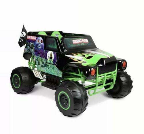 Monster Jam Grave Digger 24 Volt Battery Powered