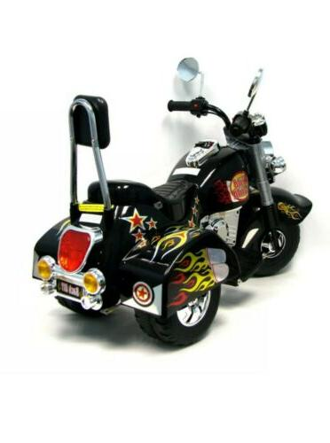 Harley Style chopper Motorcycle Ride Electric Cars for