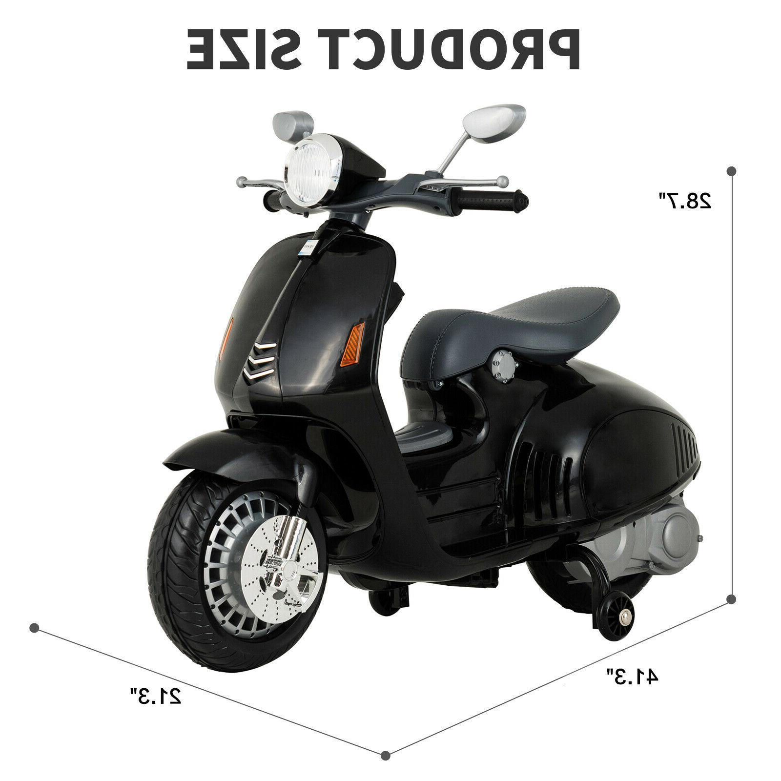 12V Children Scooters Ride Toys Motorcycle