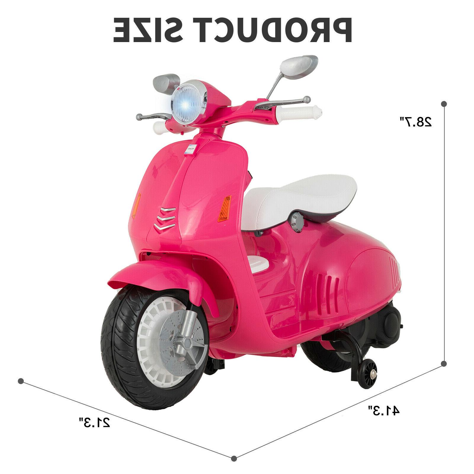 12V Kids Ride On Motorcycle Toys Color