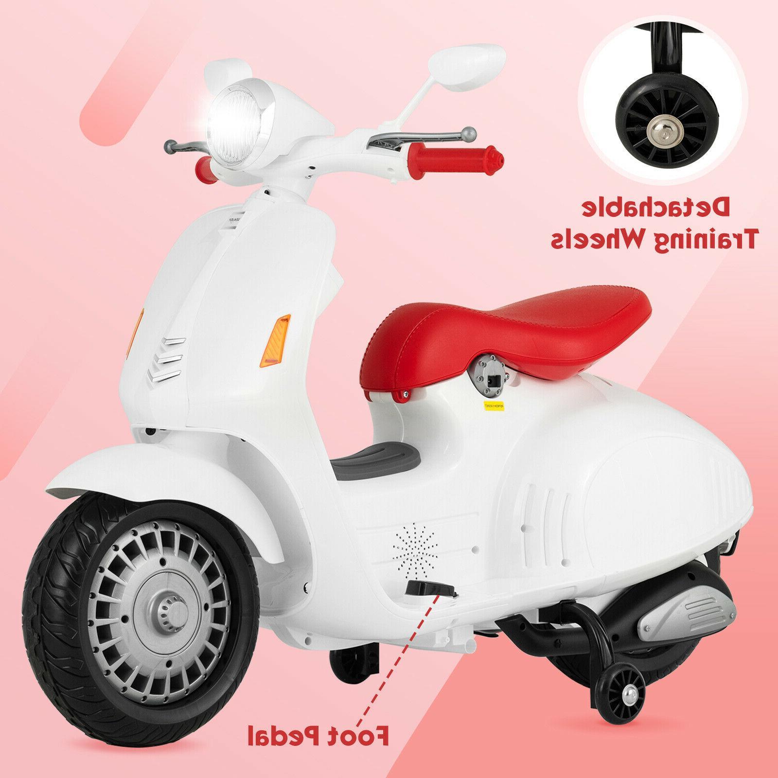 12V Children Electric Motorcycle Wheels