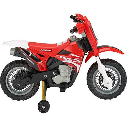 Best Ride On Cars 185 Honda Bike, 6V, Red