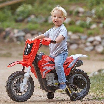 Best Ride On Cars 185 Dirt Bike, 6V,