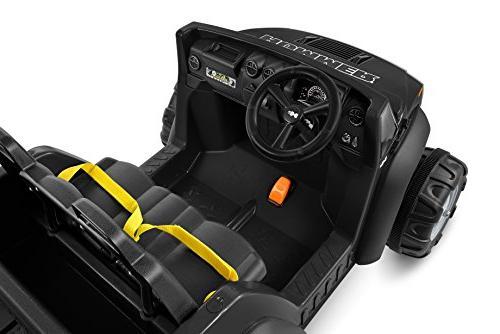 Kid 12V Two Seater, Black