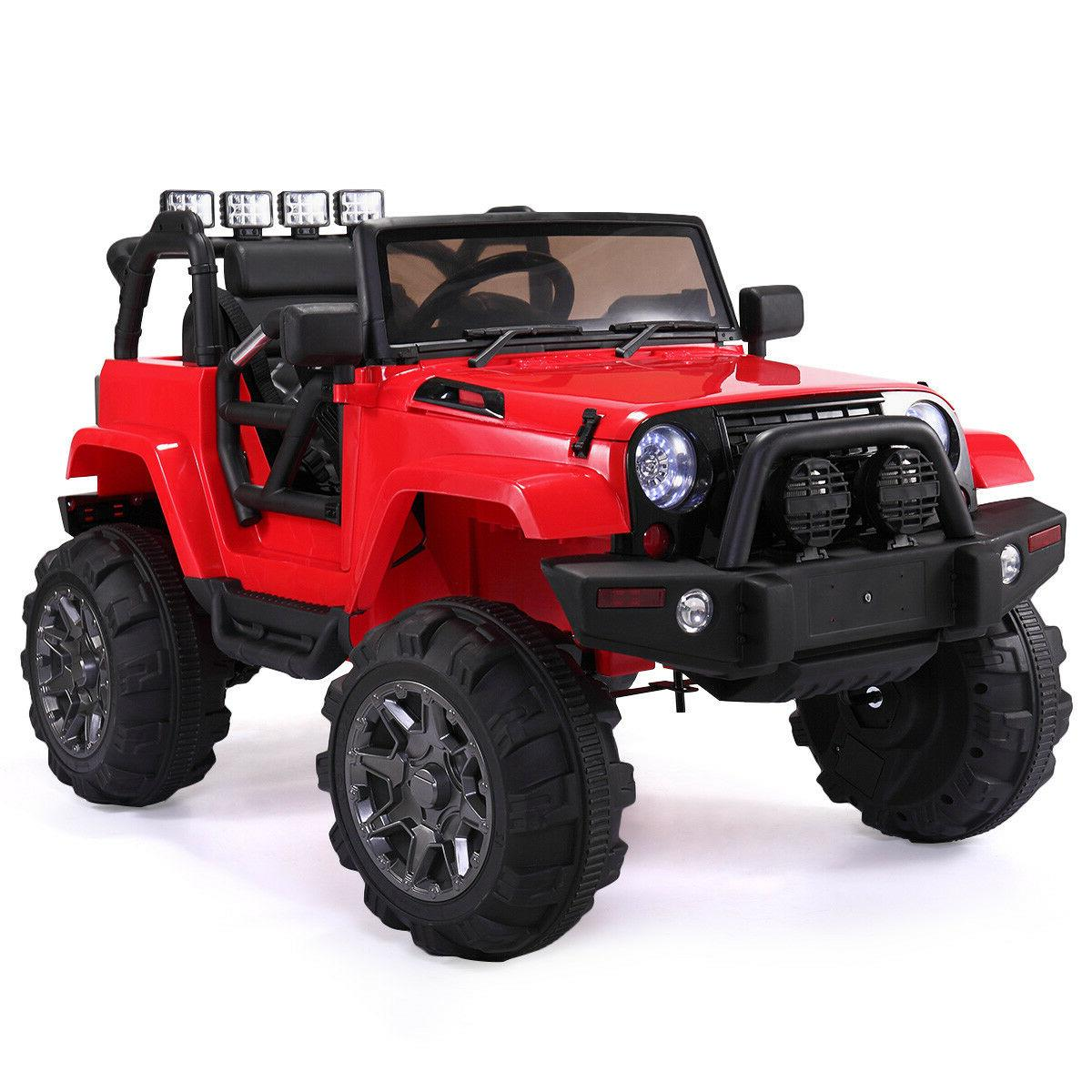 Red Ride Car Battery, Remote Control