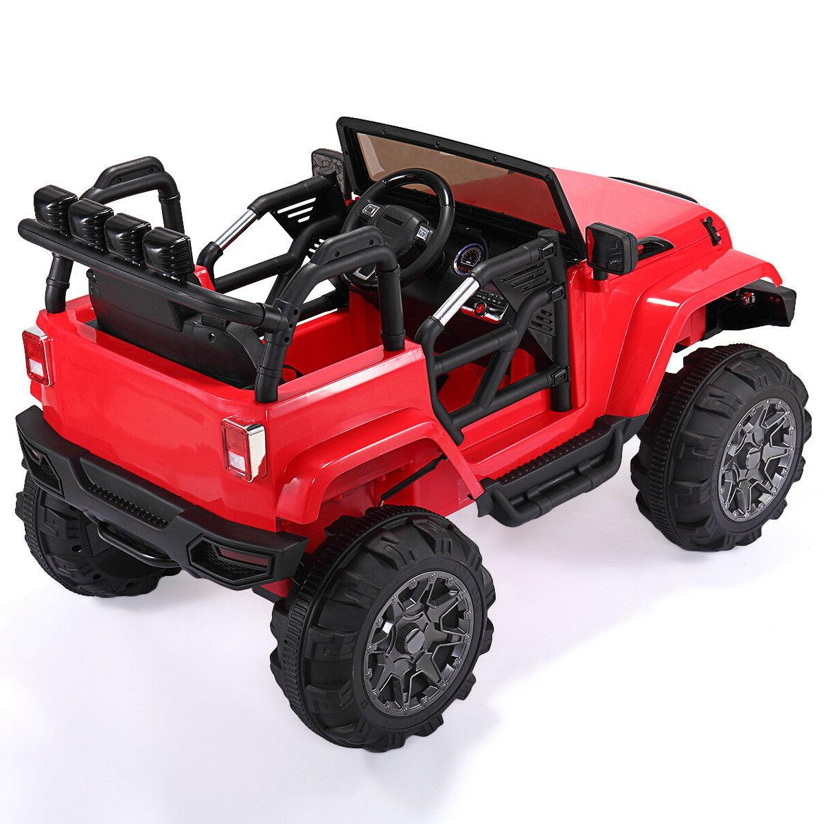 Red Electric Ride Car