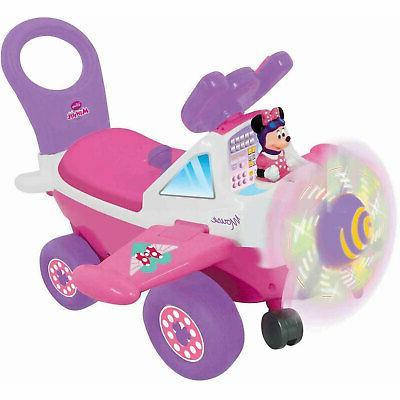 Kiddieland Disney Minnie Mouse Plane Light and Sound Activit