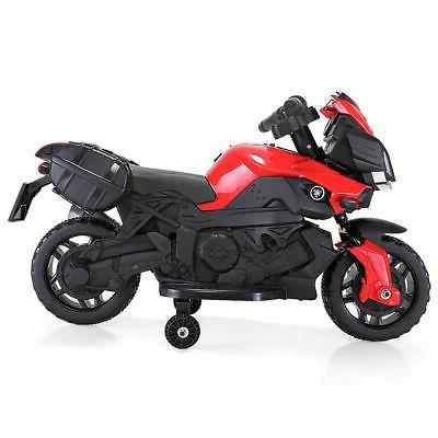 kids 4 wheel electric motorcycle car 6v