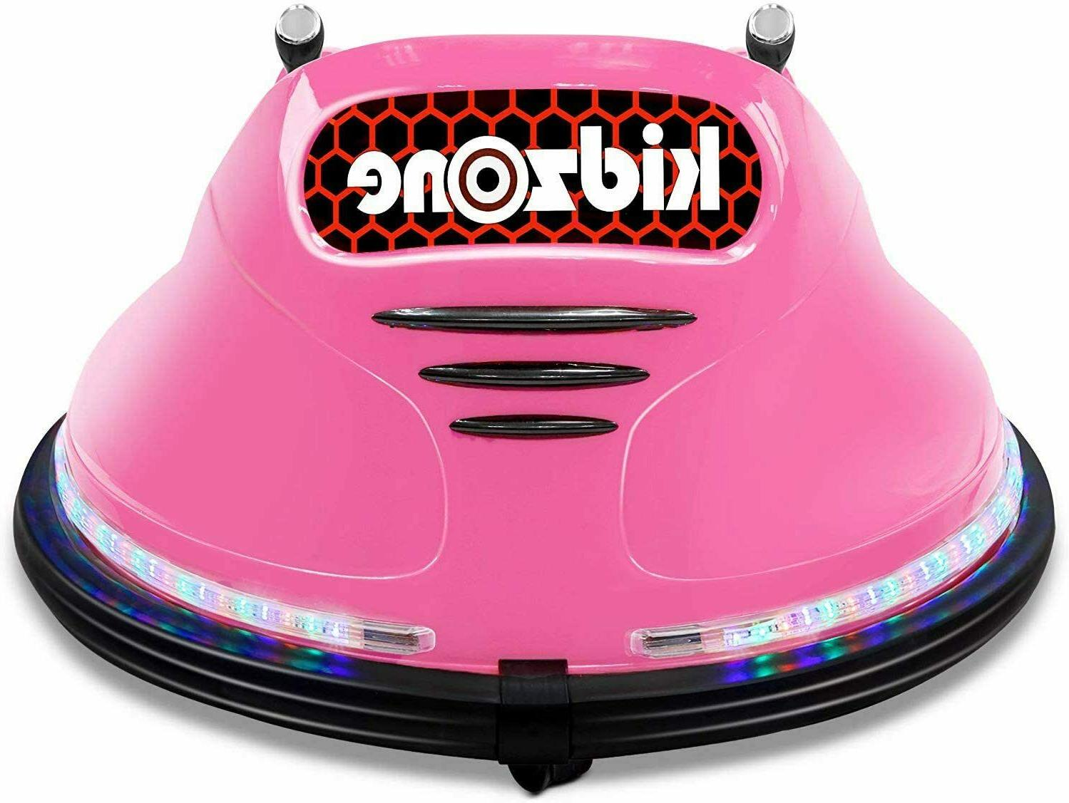 Kids ASTM-Certified Electric Ride Car Remote 360 Pink