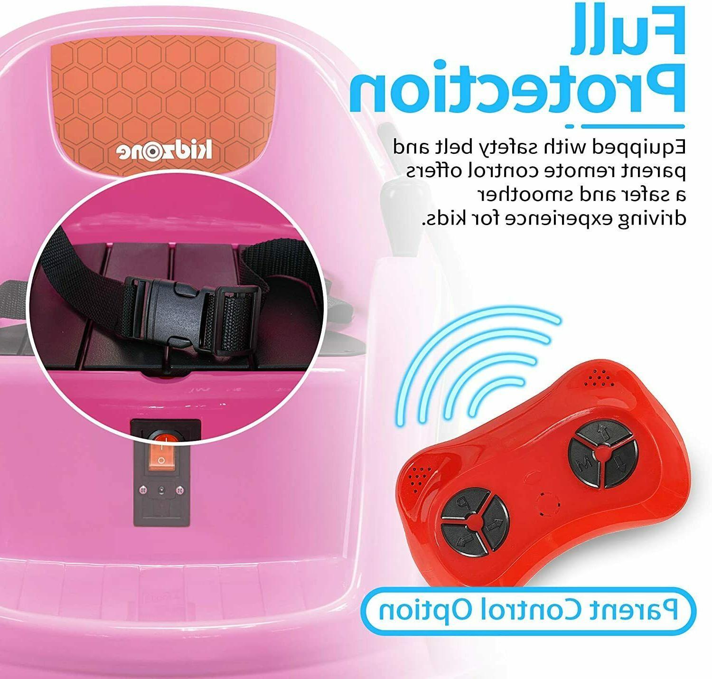 Kids Ride Car Remote Pink