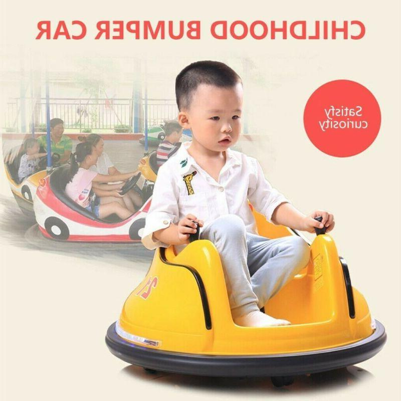 Kids ASTM-certified Ride On Bumper W/ Remote Control Spin
