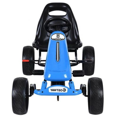 Kids Go Kart On Car 4 Outdoor Racer Car Ride on Toys Age years