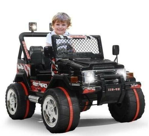 kids jeep ride on car 12v electric