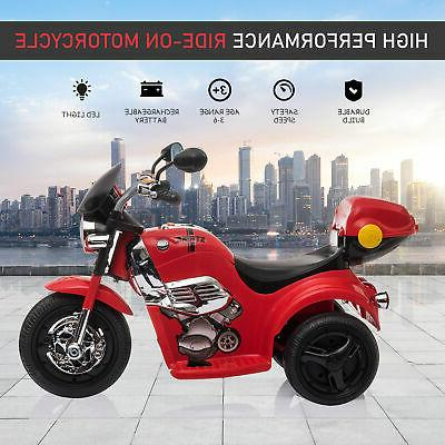 Kids Ride 6V Powered Trike Toys for 18-36 Months