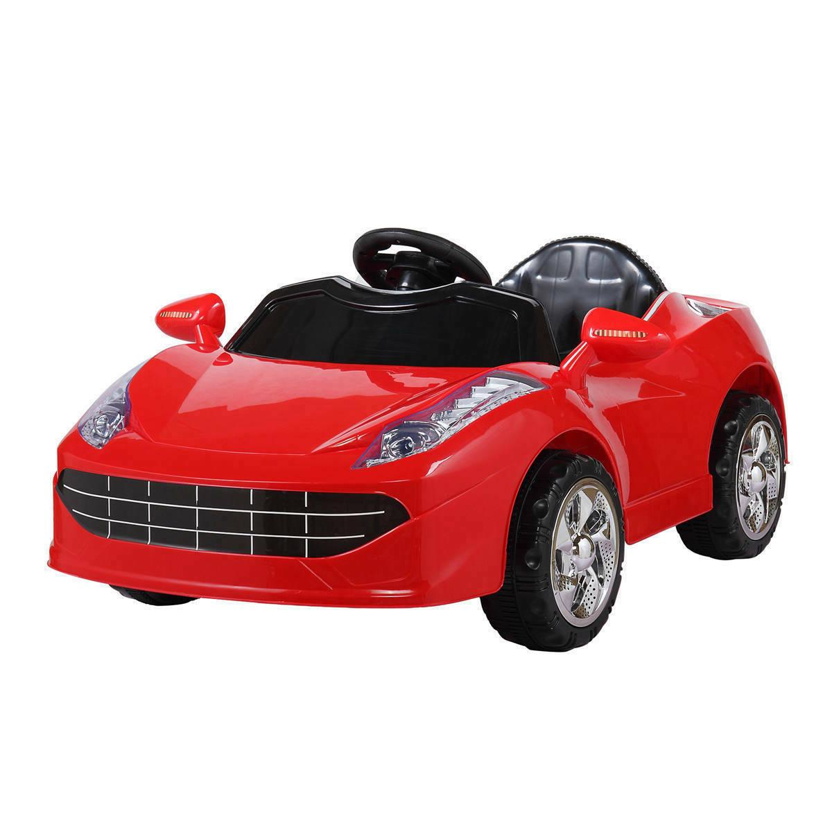 Kids Ride Electric 6V Battery Gift LED W/