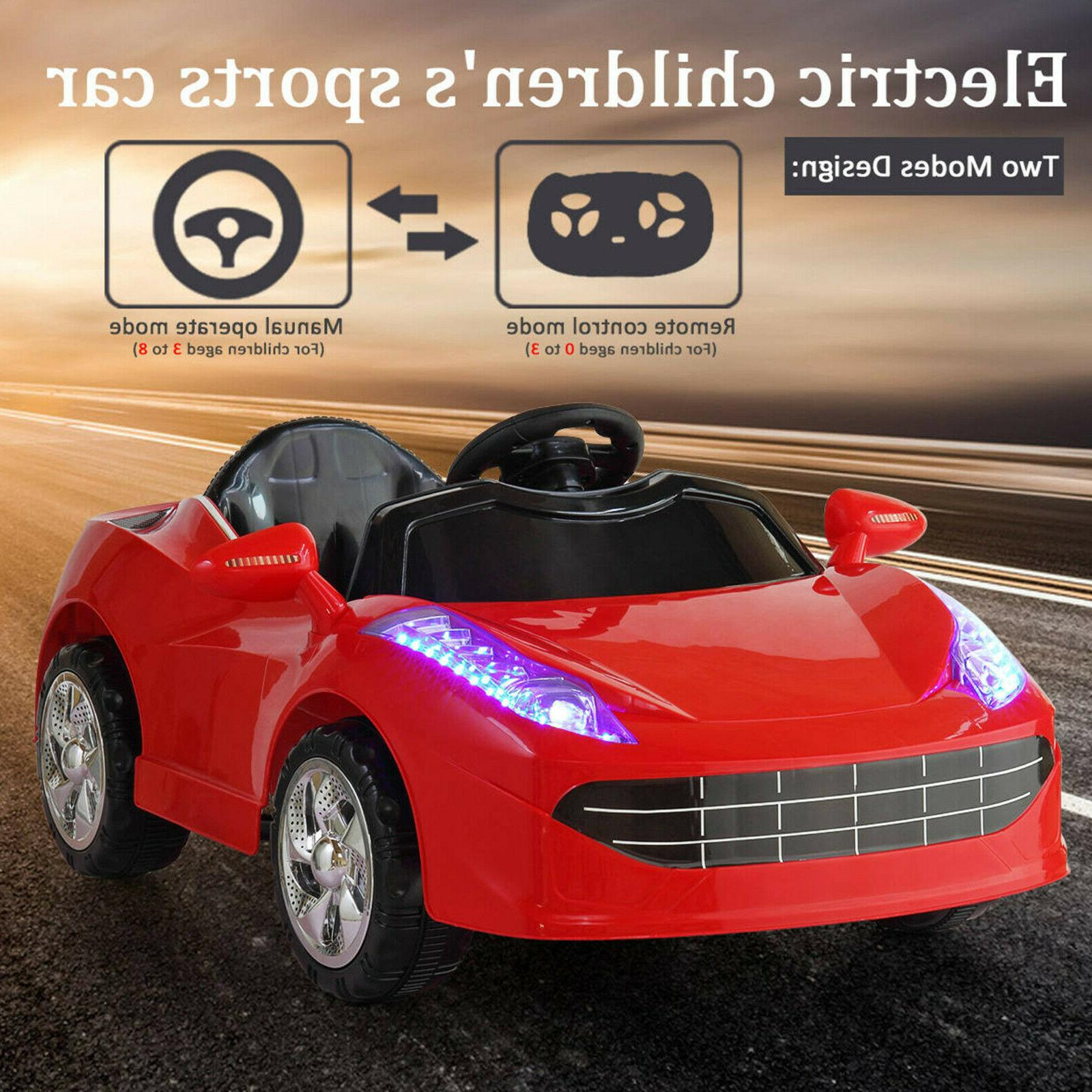 kids ride on car electric 6v battery