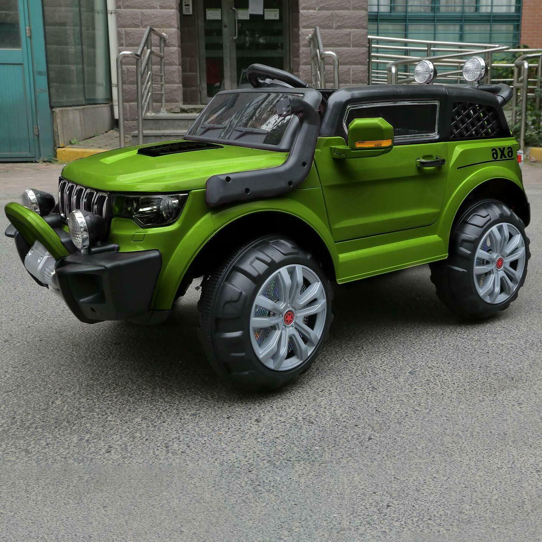 Kids Jeep 12V Wheels Remote Control MP3 Light Toy