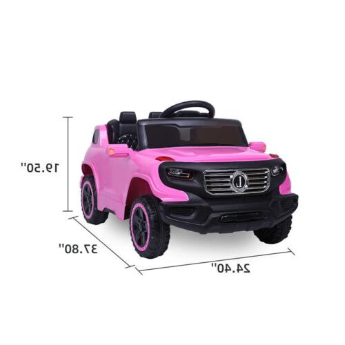 Kids Ride Toys Battery 3 Mode Remote