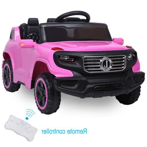 Kids Toys 3 Mode Remote Control Pink
