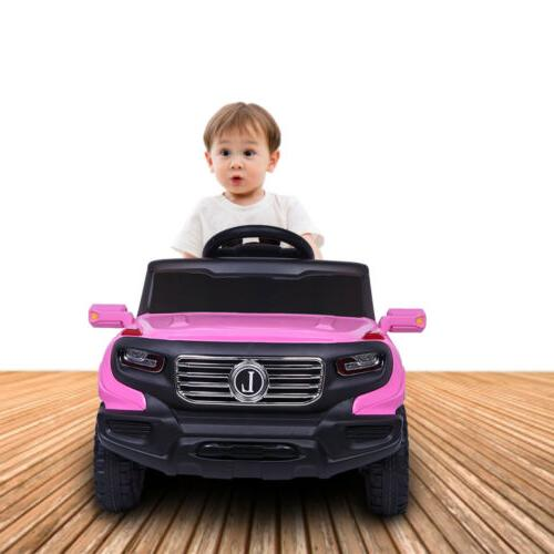 Kids on Car Toys Electric Battery Power 3 Mode w/ Remote Control