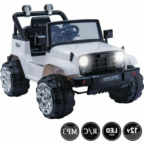 kids ride on car toys truck 12v