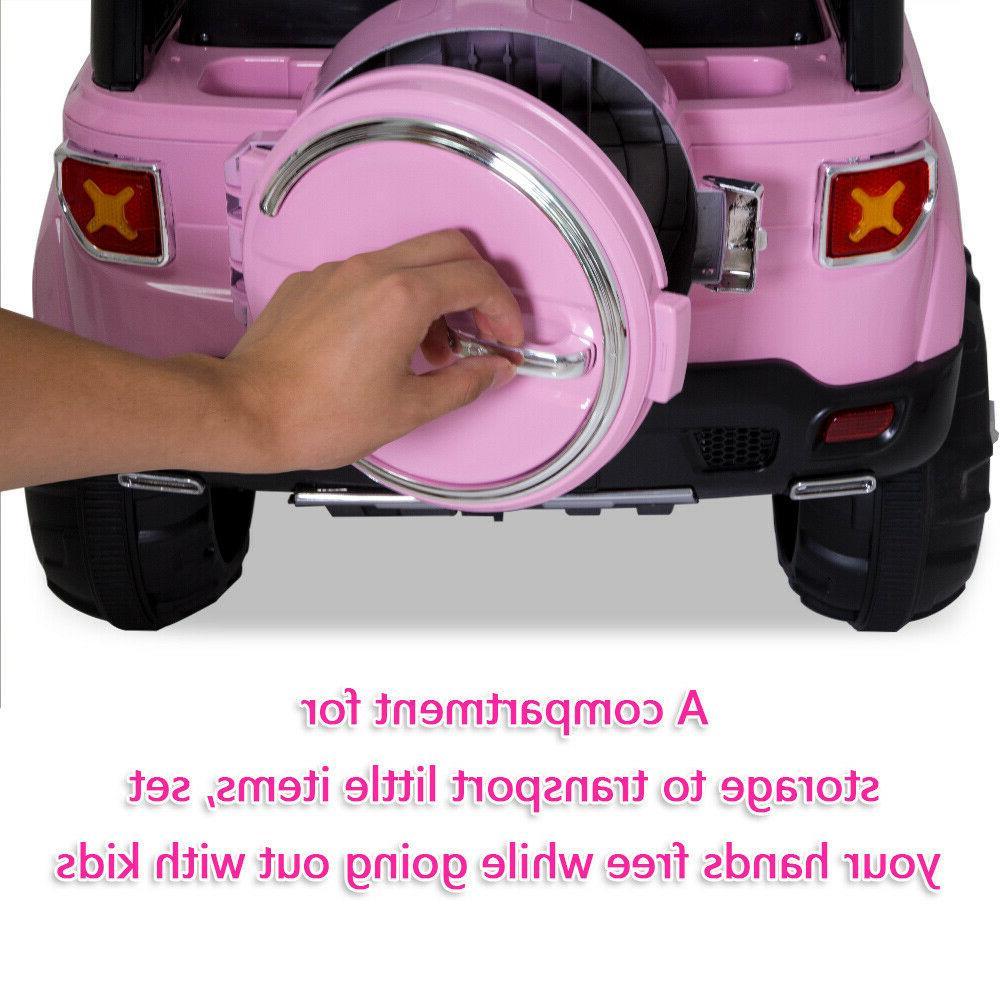 12V on Car Toys Truck LED + Remote Control