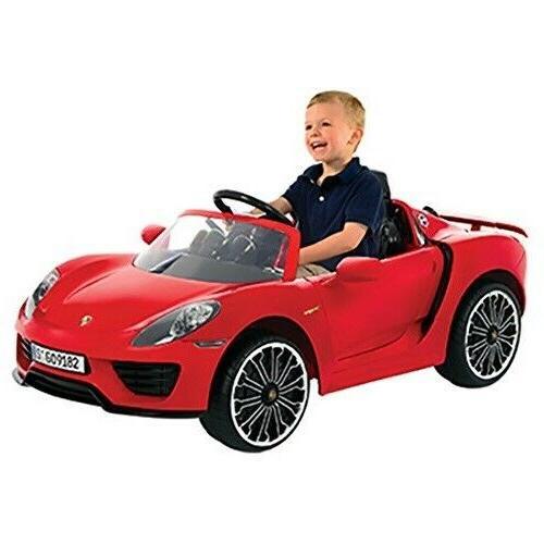 kids ride on porsche sport vehicle electric